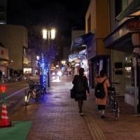松山、ロープウエイ街から老舗のバー露口へ