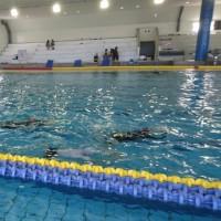 水泳学習 6年生