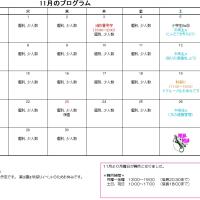平成28年11月カレンダー