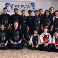 1月7日 錬成館の剣士たち、尚志館を訪問する