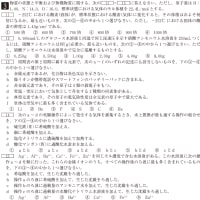 日本大学・理工学部・化学 3
