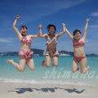 サンゴの島でジャンプジャンプ♪