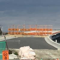 外環 妙典橋がほぼ完成でした!
