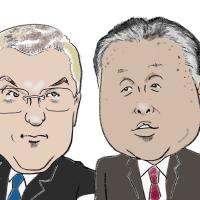 バッハ会長と森会長