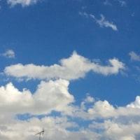 おお〜〜い、雲よ。。。(笑)
