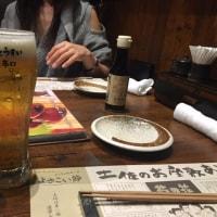 わら焼きファイヤーのタタキがうまいぜよ in わらやき屋 浜松町