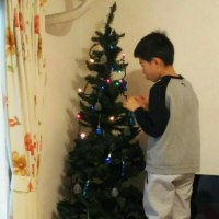 クリスマスツリー出しました!