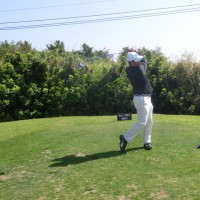 沖縄でのゴルフ何年振りか・・・・?