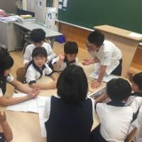 1年生と6年生 交流授業②
