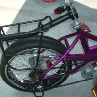 二人乗り自転車の旅・・・自転車整備・・・。