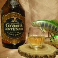 昨夜のお酒 グランツ・センテナリー(特級表示)再び