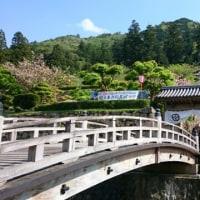 登城門に横断幕