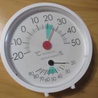 湿度14%は計器で確認できず