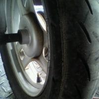 「 原付用 中古タイヤ交換 」