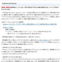 (再)申請用総合ソフトにおいて電子署名ができない事象の解消方法について
