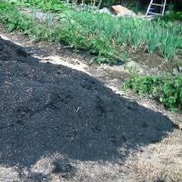 モミガラ燻炭作り