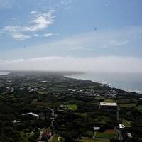 奄美大島、北部の霧