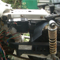 Z50Rいじり、電装系の取り付け