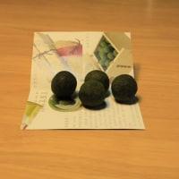 緑色した団子の名は「真盛豆」