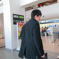 空港へ行きました。