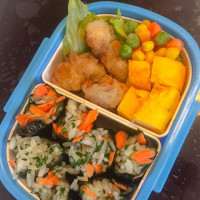 【親父厨房に入る】野菜海苔巻き弁当