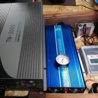 家の蓄電システムの機器が届く