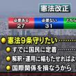 【憲法九条改憲反対】世論は憲法改正に賛成?反対? 憲法9条の改正には国民はどれくらい賛成・反対なのでしょうか。 NHKが世論調査をしています。