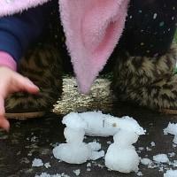 ミニミニ雪だるま