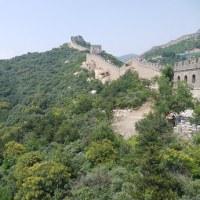 万里の長城へ