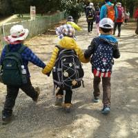 幼稚園登山卒業