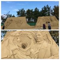 砂像展  芦屋海浜公園