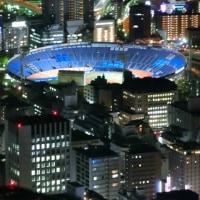 横浜ランドマークタワー69階から見る夜景5