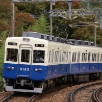 能勢電鉄「能勢町PRヘッドマーク車」撮影~山下駅にて_16/10/23