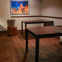 床塗り&椅子の張替完了!