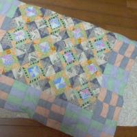 [パッチワーク]うたた寝布団を作る。