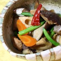 残り物&焼き魚(秋刀魚)