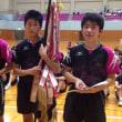 卓球県総体 表彰式