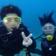 経験豊富な体験ダイバーと初ダイビング!