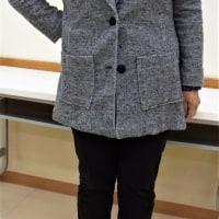 種子島分校ブログ(カットソー教室オープンの経緯)&ヘチマカラージャケット(カットソー生徒作品)