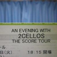 2CELLOSのコンサートに行ってきました。