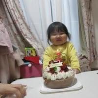 彩芽の誕生日再び!