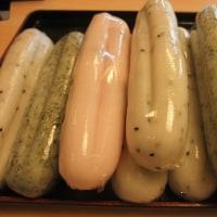 和菓子屋さんにやしょうま並ぶ