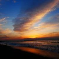 『朝焼け』 北浜