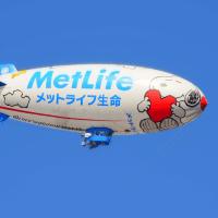ありがとう&さようなら スヌーピーJ号  ~メットライフの飛行船運行終了~