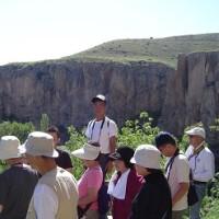 「エジプト・トルコ旅行記」 №97 渓谷の下へ