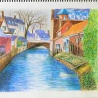 「水路のある風景」