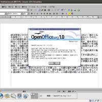 OpenOffice.org 1.0����10��ǯ�ʤ�Ǥ��ä�