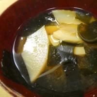 京たけのこ三昧の夕食