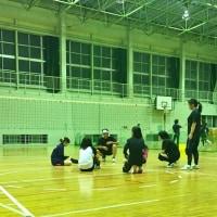 PTA ソフトバレーボール 練習頑張っています!