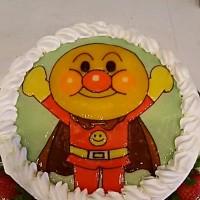 キャラクターケーキ(*^^*)アンパンマン(*^^*)